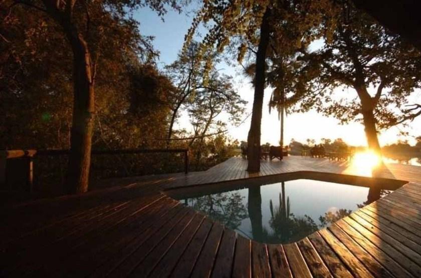 Macatoo Camp, Moremi, Botswana, piscine
