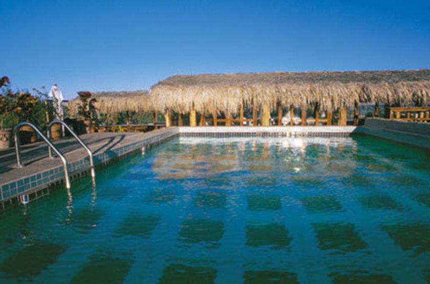 Posada de las Flore, Loreto, Mexique, piscine