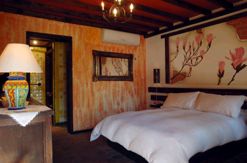 Posada de las Flore, Loreto, Mexique, chambre