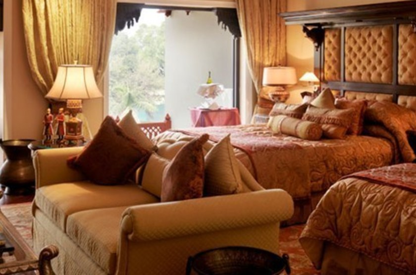 Taj Rambagh Palace, Jaipur, chambre deluxe