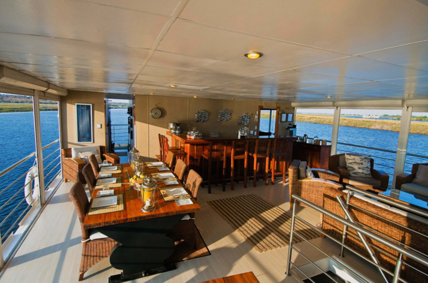 Pride of zambezi   pont restaurant slideshow