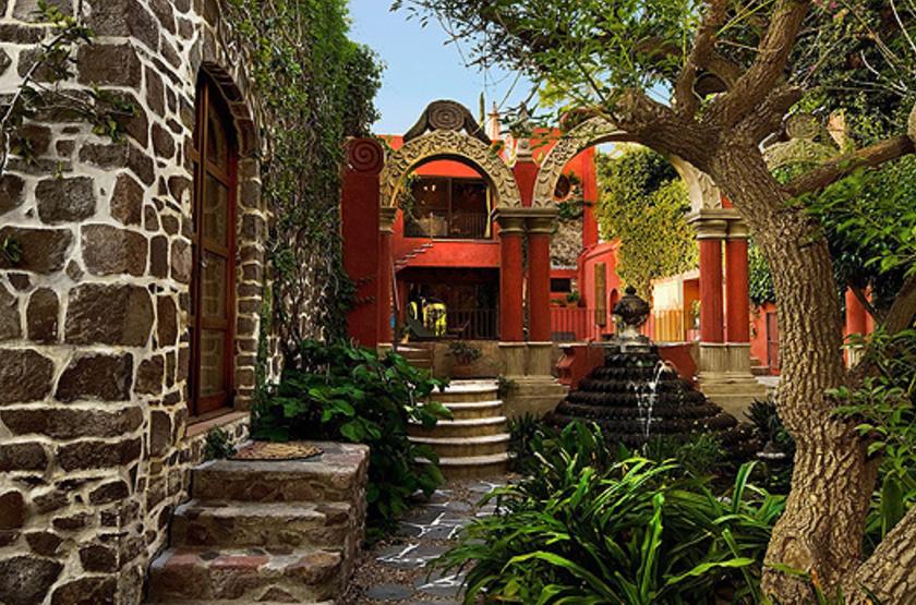 Posada Corazon, San Miguel de Allende, Mexique, jardins