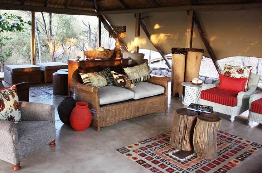 Changa Safari Camp, Matusadona, Zimbabwe, salon