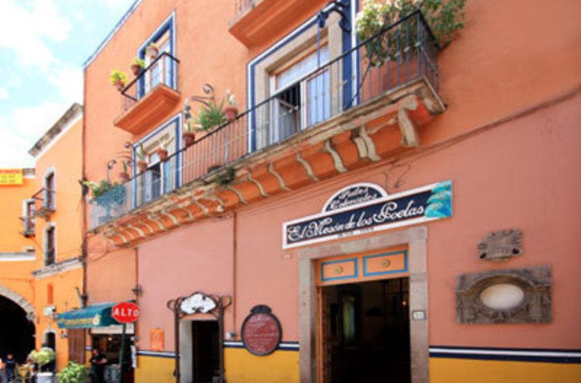 El Meson De Los Poetas, Guanajuato, Mexique, extérieur