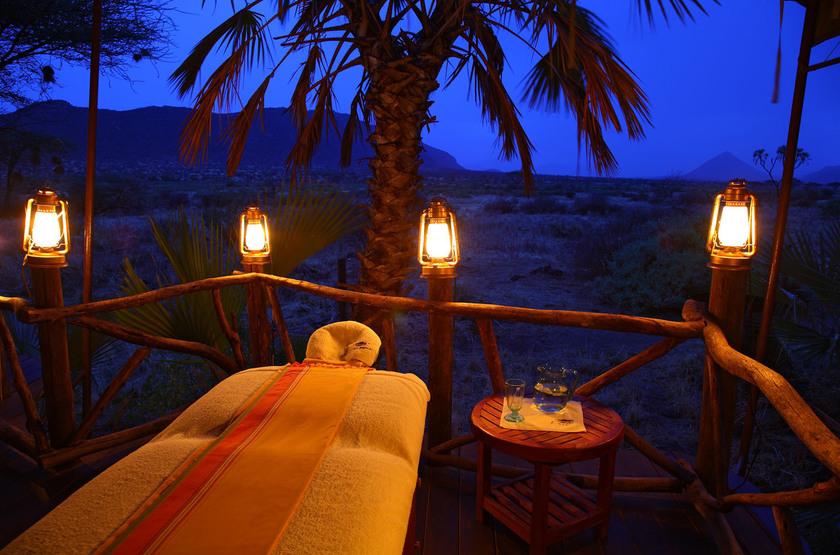 Larsens Camp, Samburu, Kenya, Spa