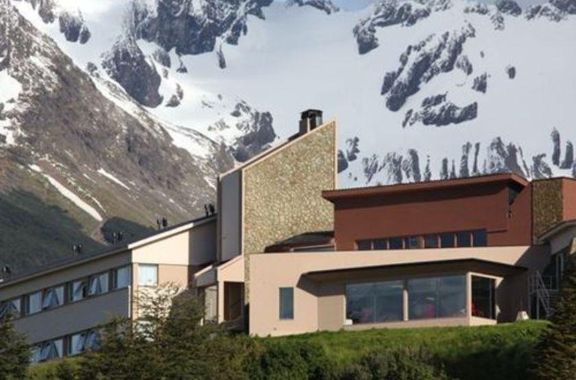 Hotel las lengas   argentine   ushuaia   vue batiment ext rieur slideshow
