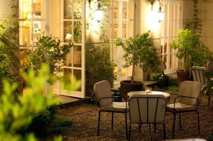 Le Reve Hotel, Santiago, Chili, terrasse