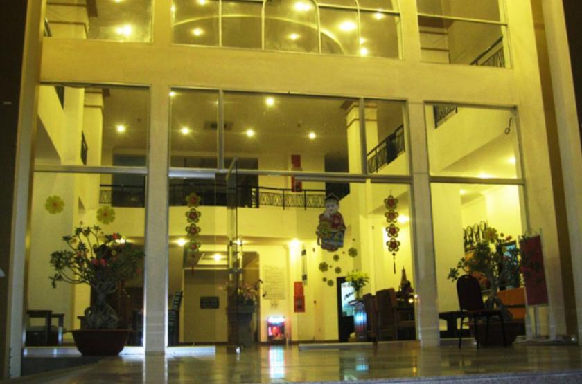Indochine Hotel, Kon Tum, Vietnam, entrée
