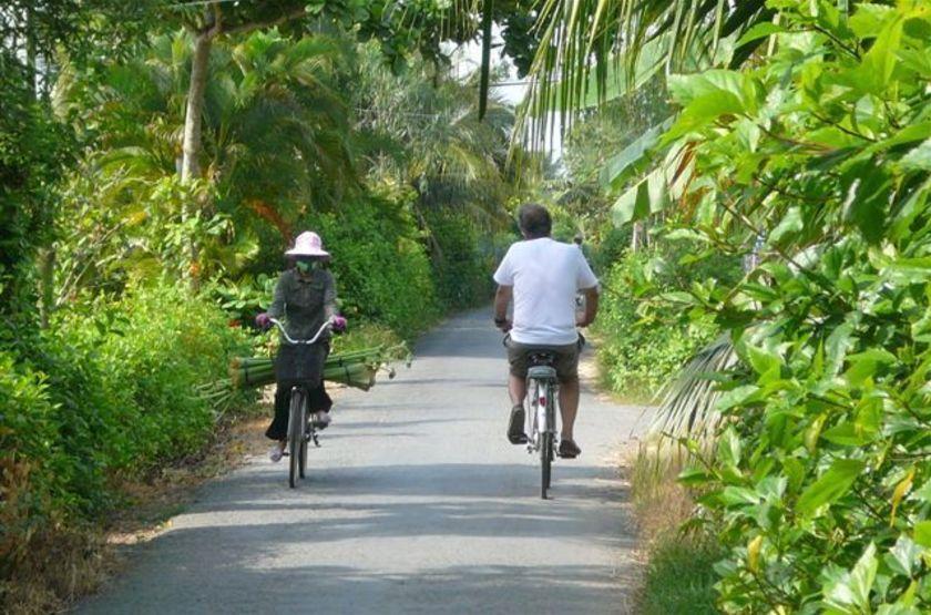 Villa Balny, My Tho, Vietnam, balade à vélo