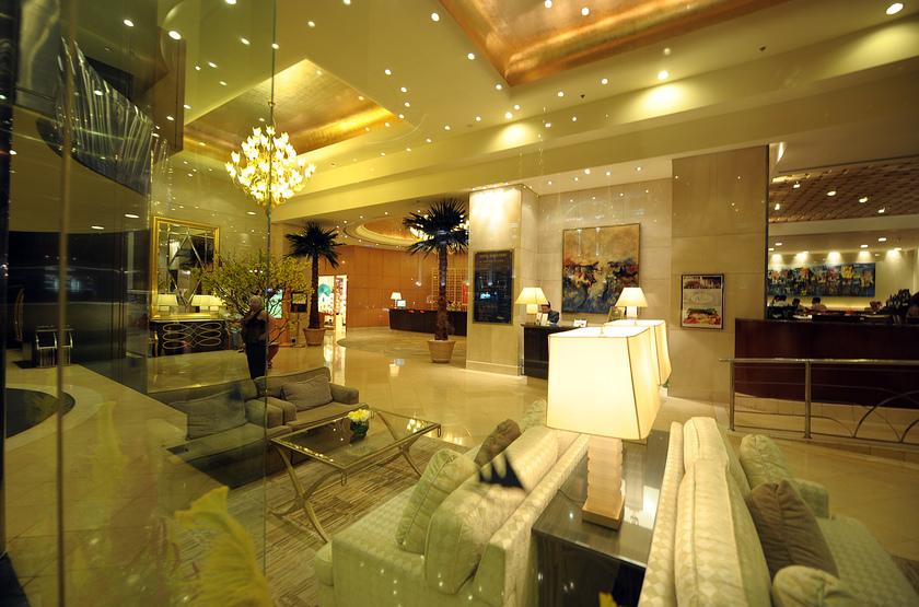 Caravelle Hotel, Ho Chi Minh, Vietnam, lobby