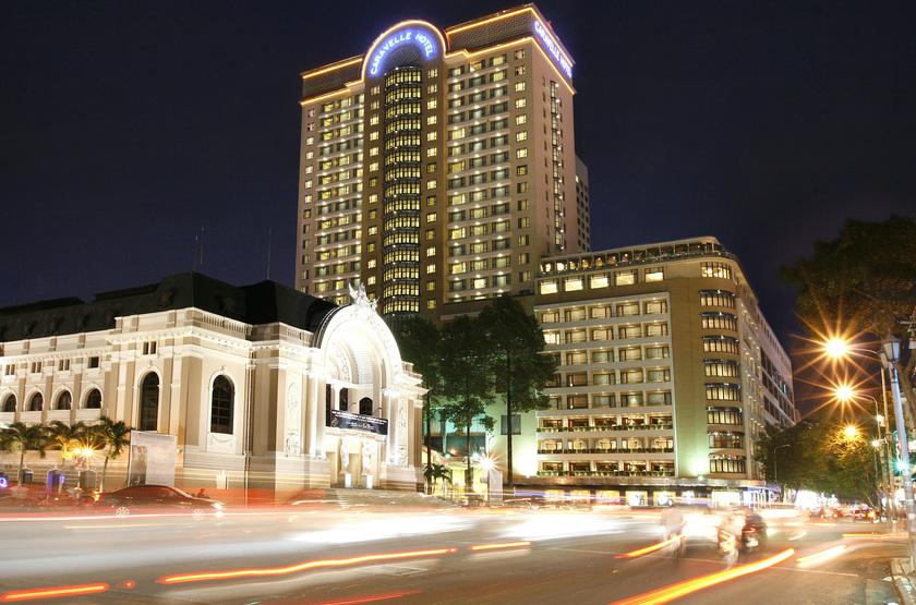 Caravelle hotel   vietnam ho chi minh   facade 2 slideshow