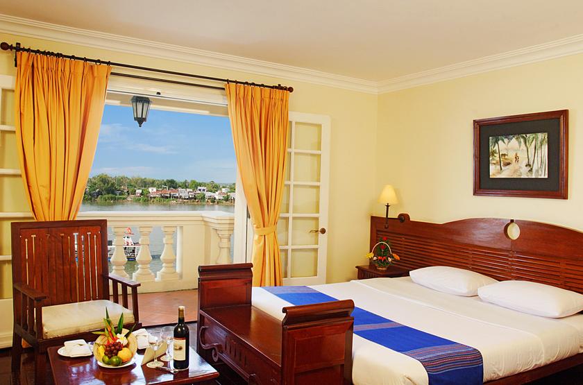 Victoria Chau Doc Hotel, Vietnam, chambre