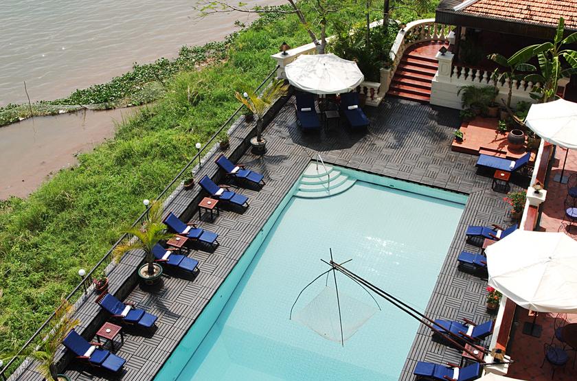 Victoria Chau Doc Hotel, Vietnam, piscine