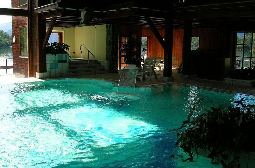 Puyuhuapi Lodge & Spa, Patagonie, Chili, piscine