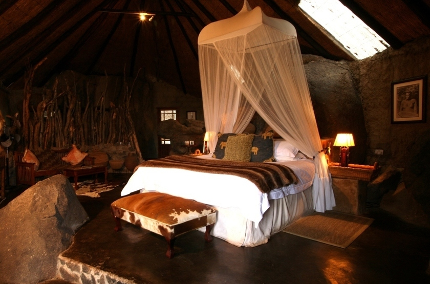 Amalinda Camp, Matobo, Zimbabwe, chambre