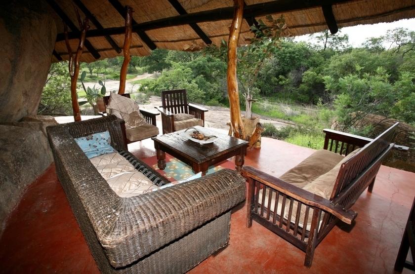 Camp alamlinda   matopos   zimbabwe   lounge slideshow