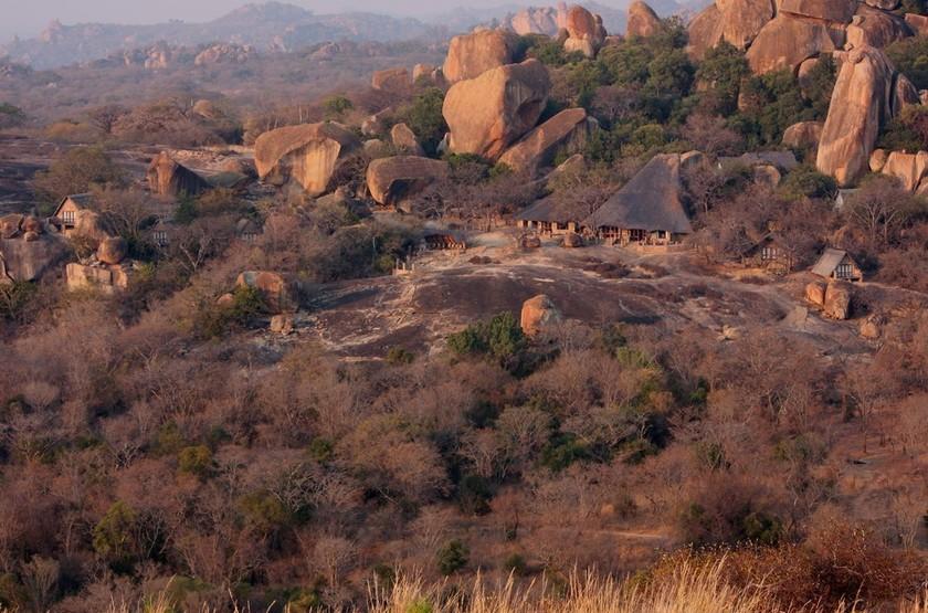 Amalinda Camp, Matobo, Zimbabwe, emplacement