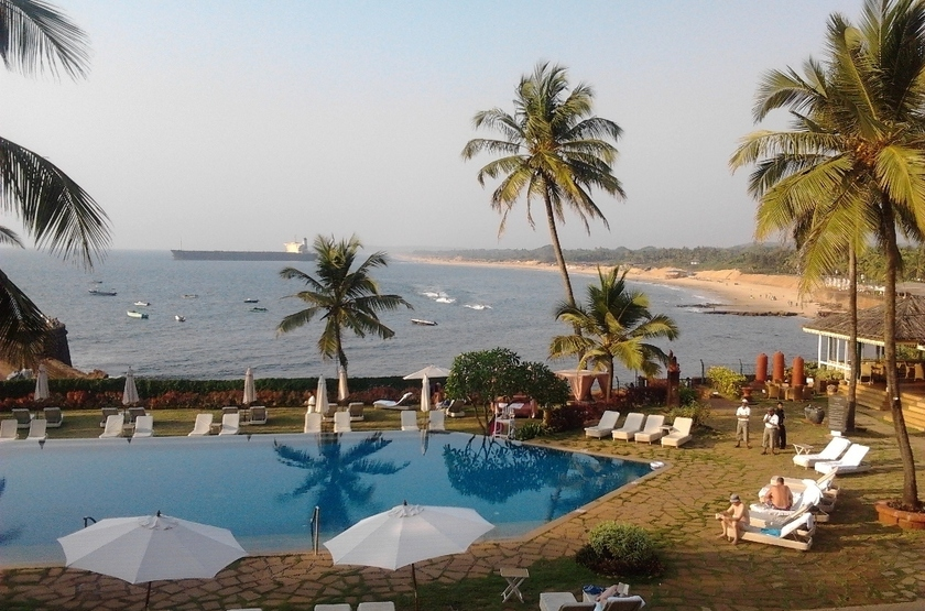 Taj fort aguada resort exterior  slideshow