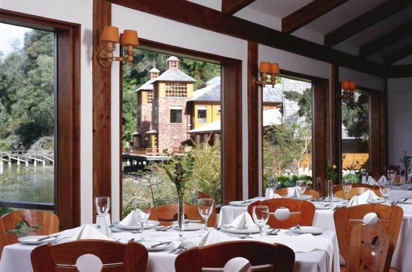 Puyuhuapi Lodge & Spa, Patagonie, Chili, restaurant