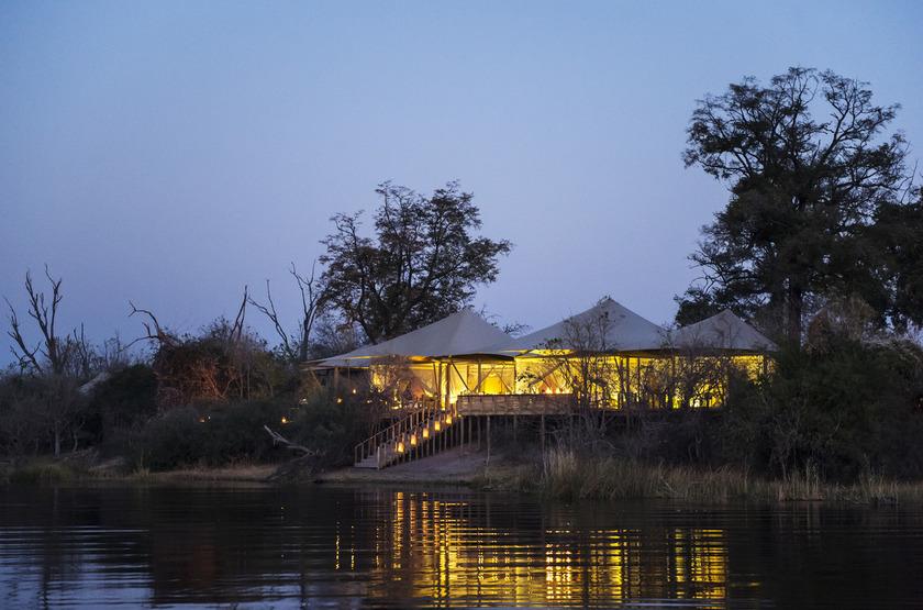 Duma Tau Camp, rivière de Savuti, Botswana, extérieur