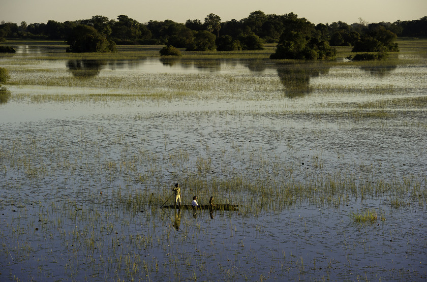 Jacana camp   mokoro coucher de soleil slideshow