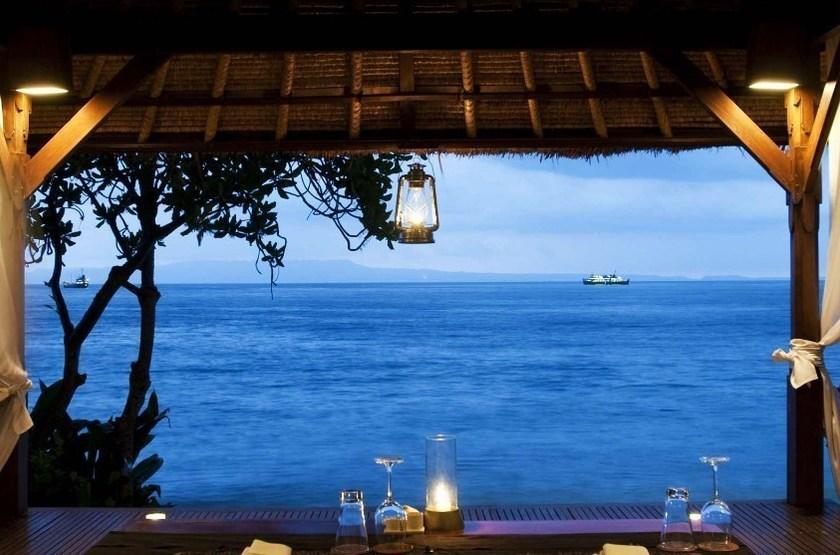 Alila Manggis Candidasa, Bali, Indonésie, restaurant