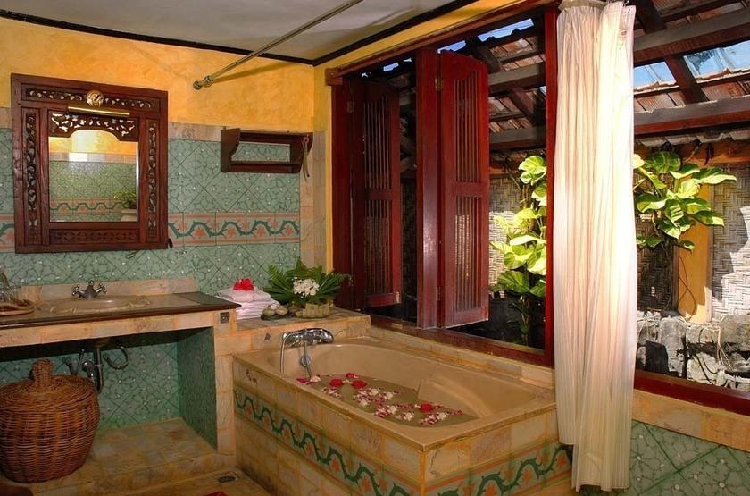 Dusun Jogja Village Inn, Jogjakarta, Java, salle de bains
