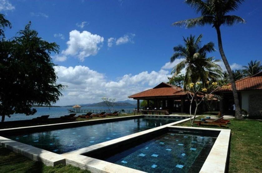 Cocotinos Lombok, Indonésie, piscine