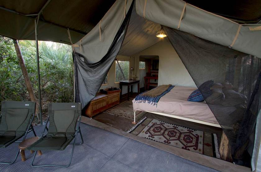 Pelo camp tent interior slideshow