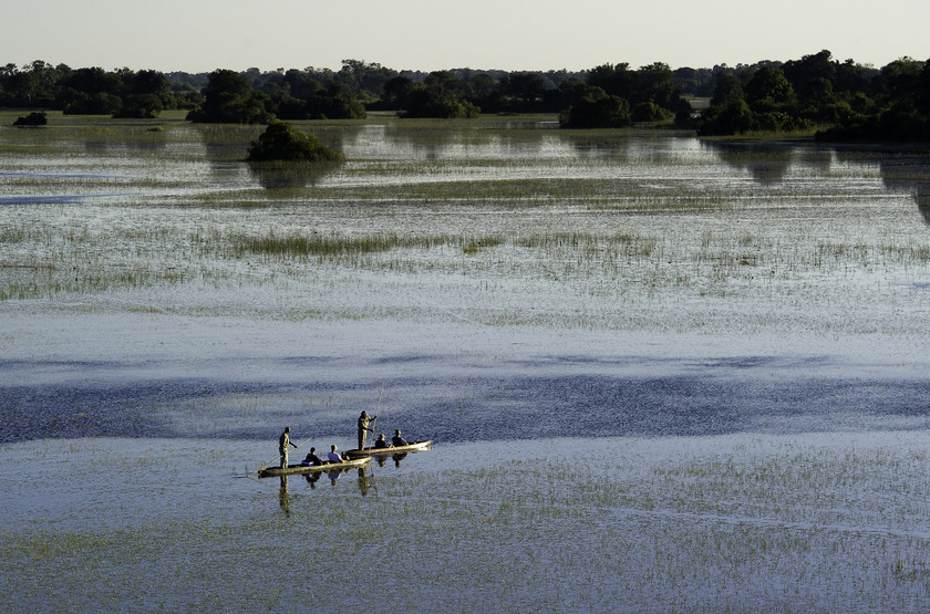 Pelo Camp, Jao concession, Okavango, Botswana, safari en mokoro