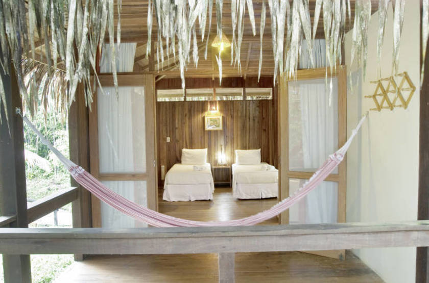 Anavilhanas lodge   amazonie  chambre slideshow
