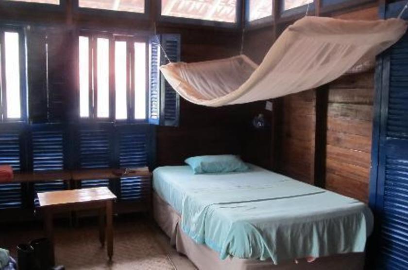 Uacari Lodge, Mamiraua, Brésil, chambre