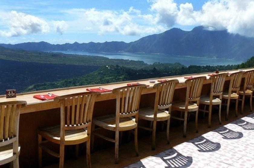 Lake View Bali, Indonésie, terrasse