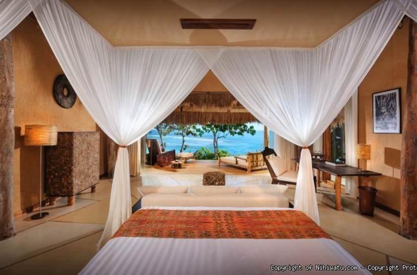 Nihiwatu Resort Sumba Island, Indonésie, chambre vue mer