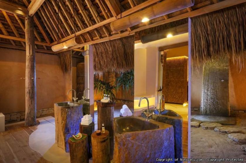 Nihiwatu Resort Sumba Island, Indonésie, salle de bains