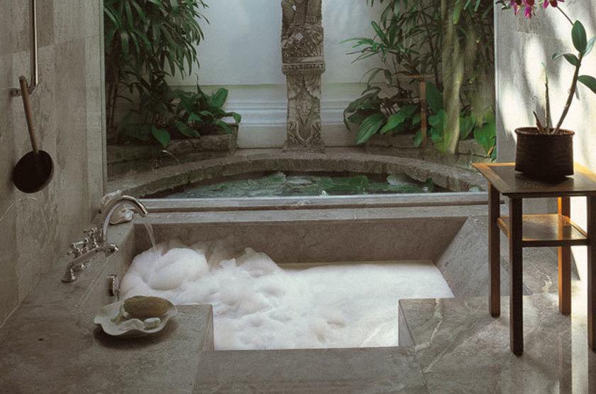 The Oberoi Bali, Indonésie, salle de bains
