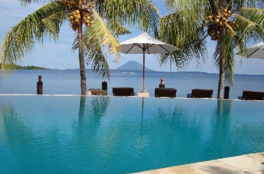 Kima Bajo Resort & Spa, Sulawesi, Indonésie, piscine