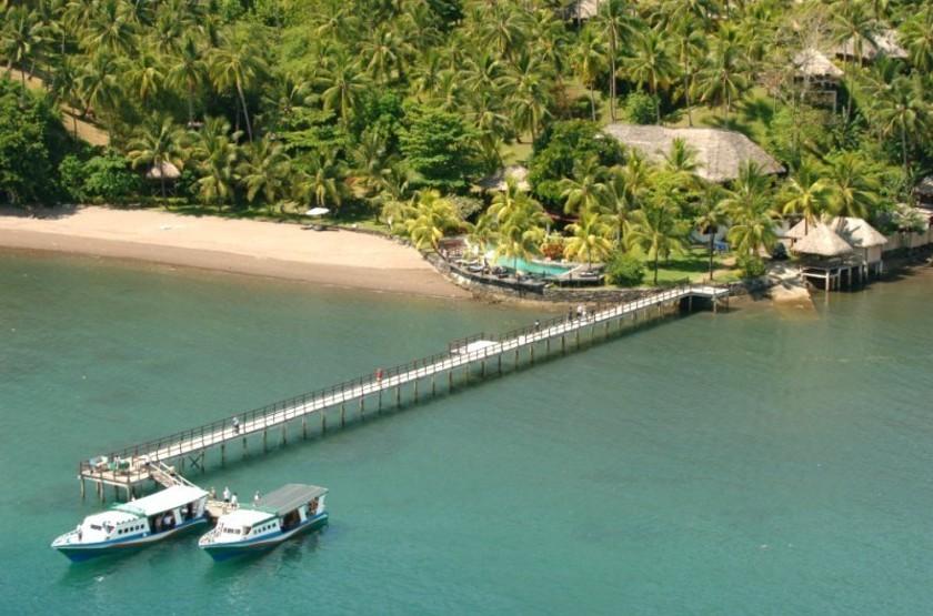 Kima Bajo Resort & Spa, Sulawesi, Indonésie, vue d'ensemble