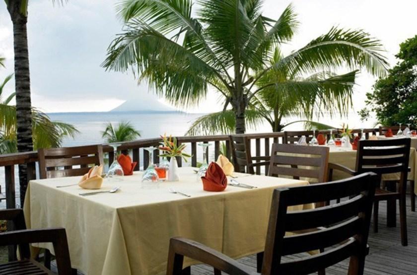 Kima Bajo Resort & Spa, Sulawesi, Indonésie, restaurant