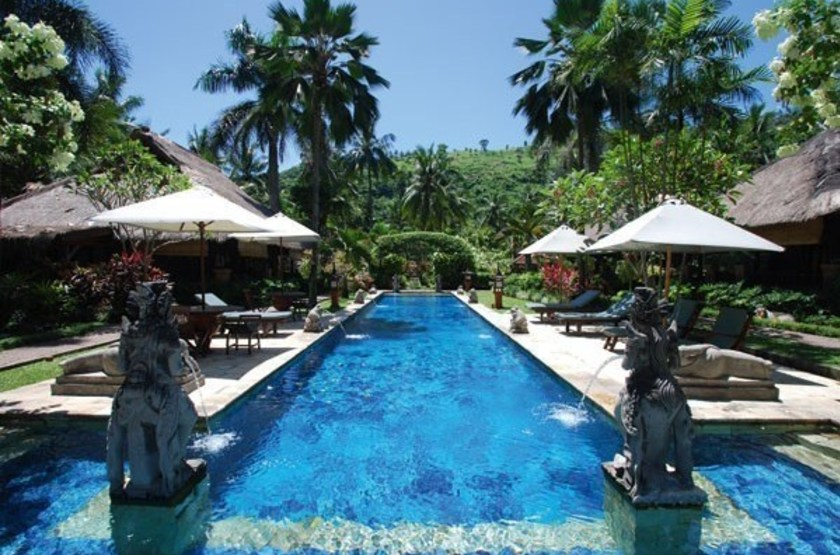 Puri Mas Boutique Resort Lombok, Indonésie, piscine