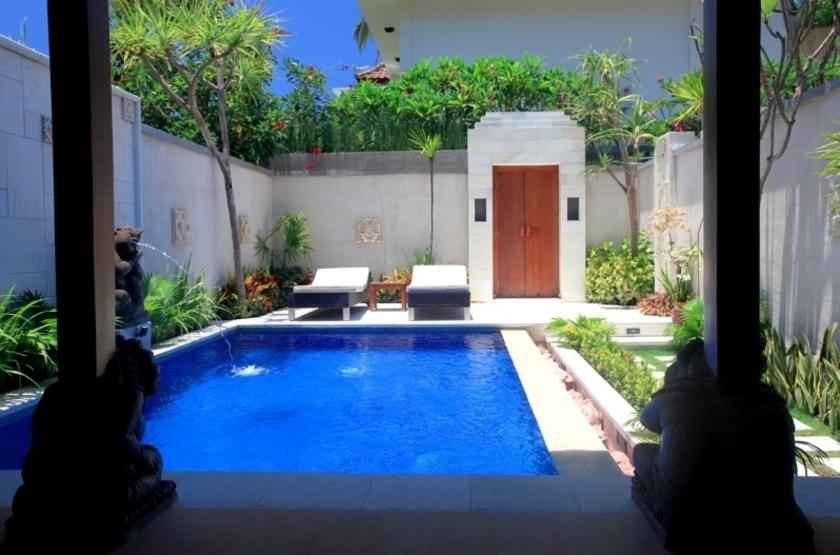Pool villa view slideshow