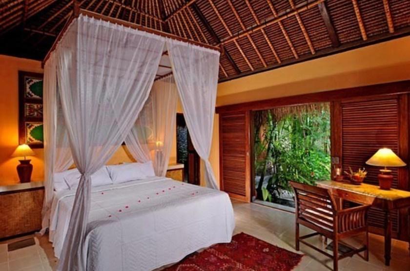 Taman Selini Beach Bungalows, Pemuteran, Bali, Indonésie, chambre