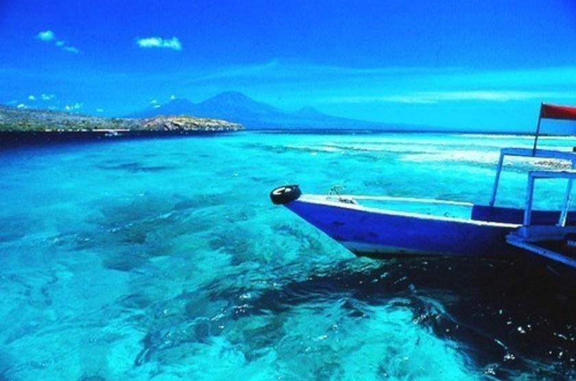Taman Selini Beach Bungalows, Pemuteran, Bali, Indonésie, vue océan