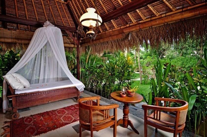 Taman Selini Beach Bungalows, Pemuteran, Bali, Indonésie, intérieur