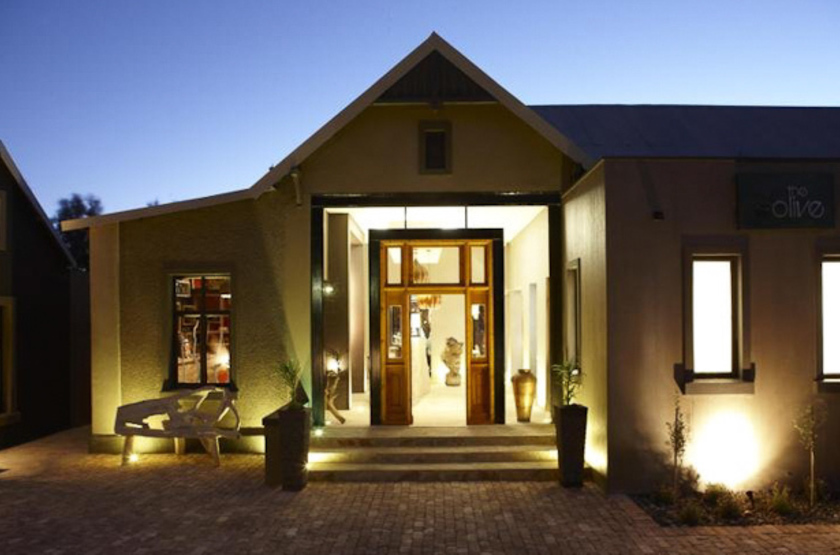 The Olive Exclusive Boutique Hotel, Windhoek, Namibie, extérieur