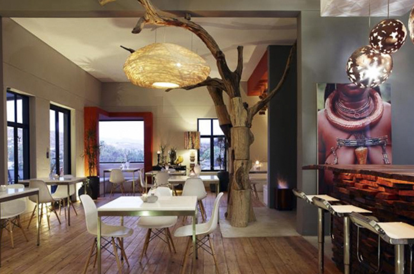The Olive Exclusive Boutique Hotel, Windhoek, Namibie, restaurant