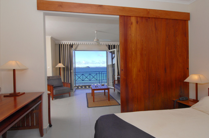 Allamanda hôtel, Diego Suarez, Madagascar, chambre vue mer