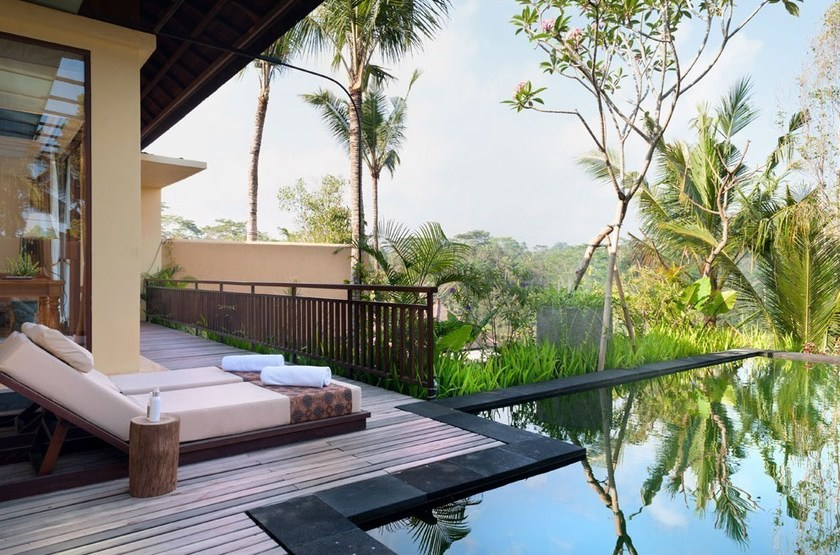 Komaneka at Tanggayuda, Ubud, Bali, Indonésie, villa