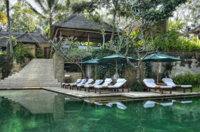 Komaneka at Tanggayuda, Ubud, Bali, Indonésie, piscine