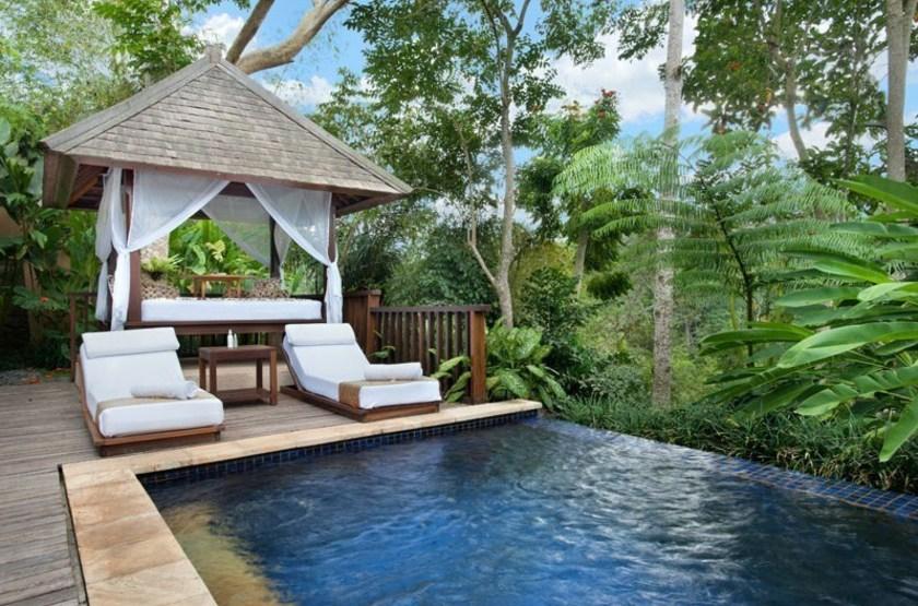 Komaneka at Tanggayuda, Ubud, Bali, Indonésie, pool villa